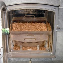 Werking van een pelletkachel - verbranding van pellets