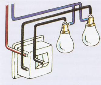 Dubbele lichtschakelaar aansluiten